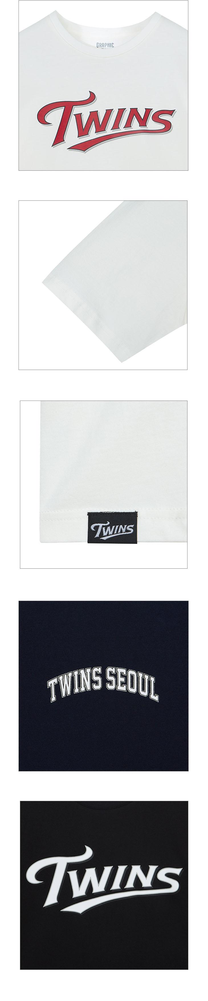 스파오(SPAO) (LG 트윈스) 반팔 티셔츠_SPRLA24C09
