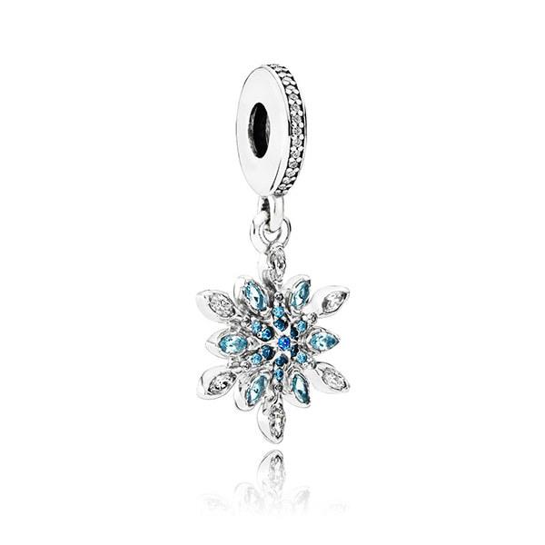 47c54baaa 판도라 791761NBLMX Charms-Anhanger Eiskristall 참 SILVER CHARM ...