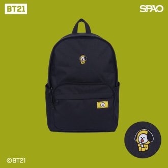 L BT21 캔디백팩(CHIMMY)_BLACK_SPAK948A01
