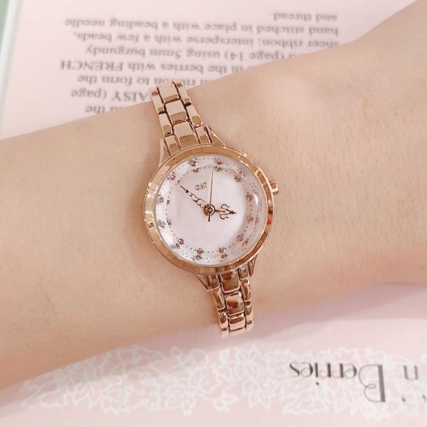 로즈골드 클래식 핸즈 여성 메탈 시계(OTW918501TPP)