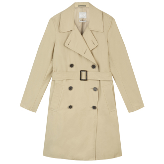 [Gloverall]Womens Trench Coat (Beige)